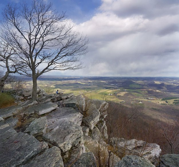 View from the Pinnacle in Spring, Pennsylvania