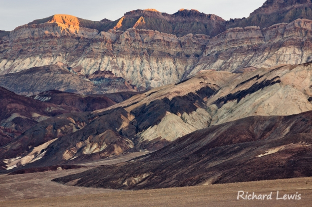 The Badlands of Death Valley
