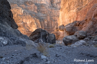 Fall Canyon in Death Valley