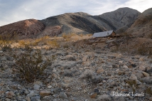 Old Miner's Cabin in Death Valley