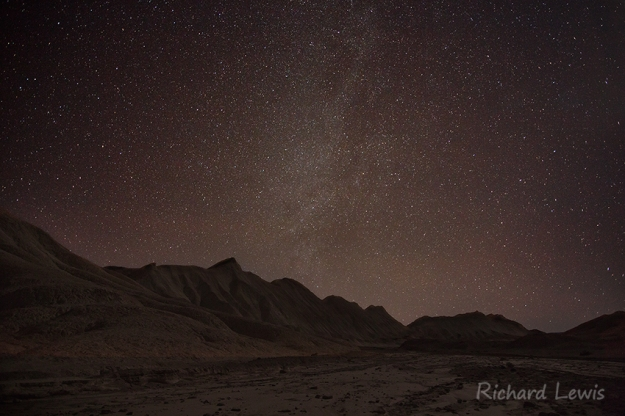 Moonlit Badlands of Death Valley