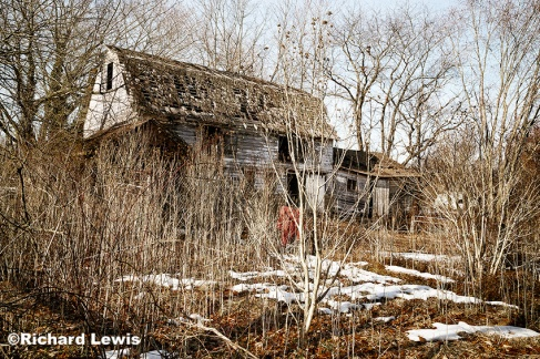 Abandoned Barn Near Cream Ridge New Jersey by Richard Lewis 2014 All Rights Reserved