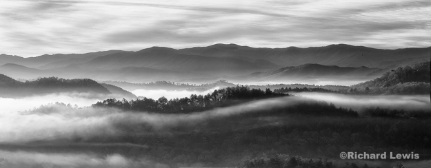 Morning Fog in the Smokey Mountains