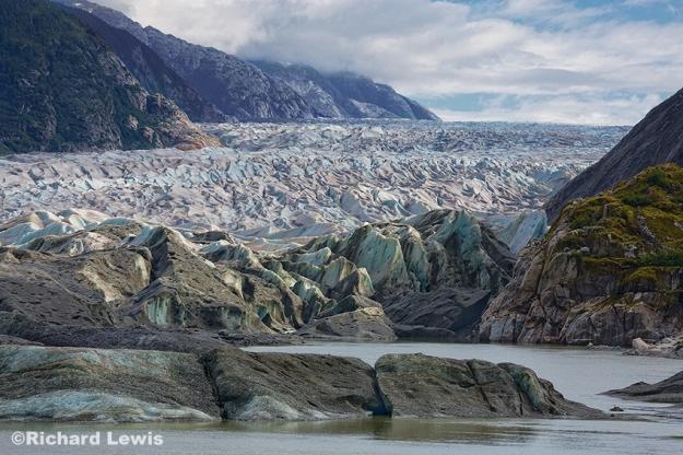 Baird Glacier in Alaska by Richard Lewis