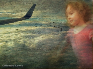 I Often Dream Of Flying iPhoneography by Richard Lewis