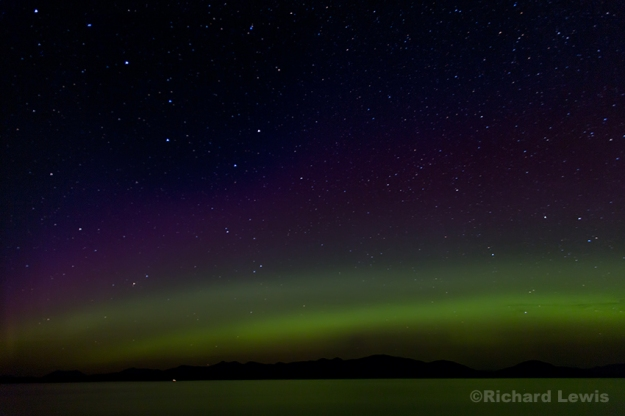 Northern Lights in South East Alaska Richard Lewis