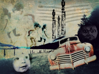 Our Trip To Alaska Was Full Of Ghosts And Dancing Children iPhoneography by Richard Lewis