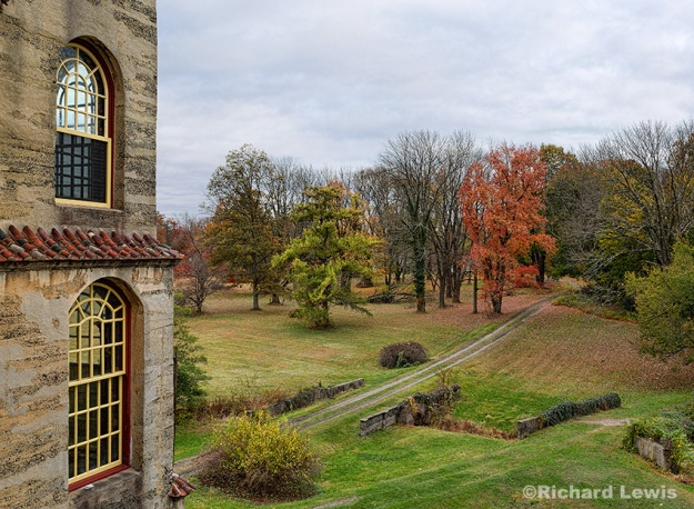 Fonthill from the Balcony by Richard Lewis