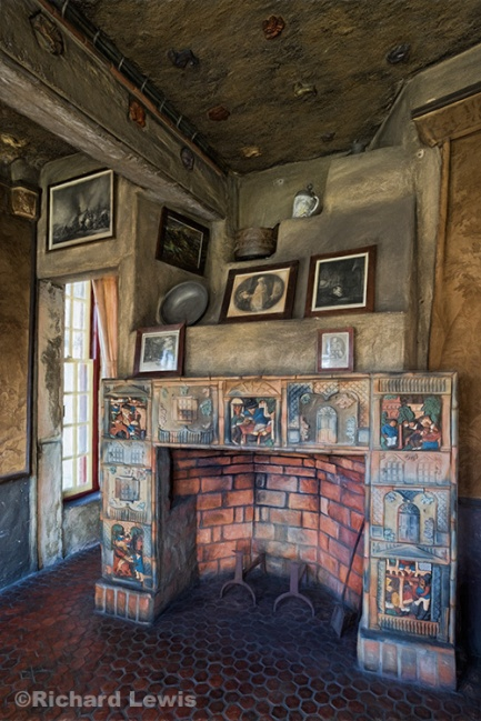 Fonthill Fireplace by Richard Lewis