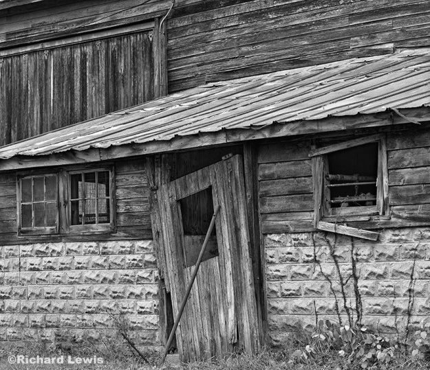 Old Barn Composition by Richard Lewis