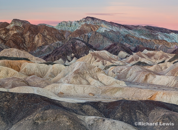 The Badlands of Death Valley by Richard Lewis
