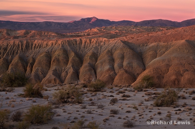 Fonts Point in Anzo Borrego by Richard Lewis