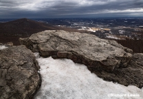 Late Winter Landscape from Pulpit Rock by Richard Lewis