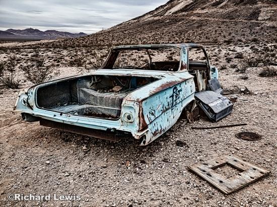 Left in the Desert by Richard Lewis
