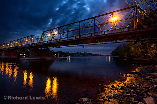Lambertville Bridge by Richard Lewis