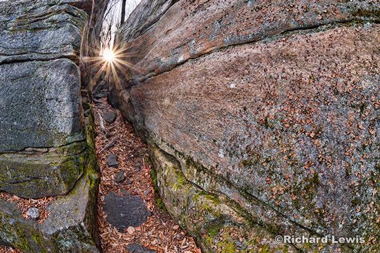 Pennsylvania Slot Canyon by Richard Lewis