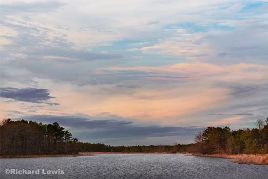 Under A Watercolor Sky by Richard Lewis