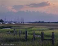 Evening on Amelia Island by Richard Lewis