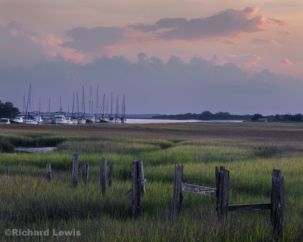 Evening on Amelia Island by Richard Lewis
