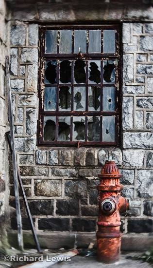 The Guard House Eastern State Penitentiary by Richard Lewis