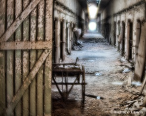 Eastern State Penitentiary Cell Block by Richard Lewis