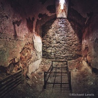 Prisoner's Cell Eastern State Penitentiary by Richard Lewis