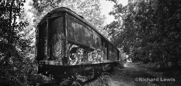 Old Train Car 1 by Richard Lewis
