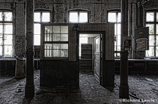 Foreman's Office Scranton Lace Company by Richard Lewis