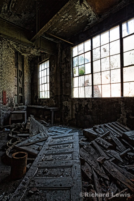 Storage Room at the Scranton Lace Company by Richard Lewis