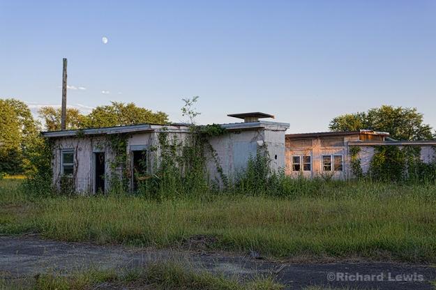 Nike Missile Base by Richard Lewis