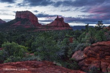 Sedona Before Dawn by Richard Lewis