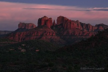 Evening in Sedona by Richard Lewis