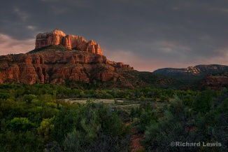 Sedona Storm Light by Richard Lewis