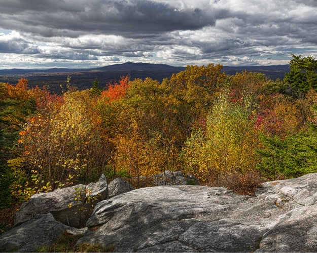 View Towards Mt Monadnock by Richard Lewis 2015
