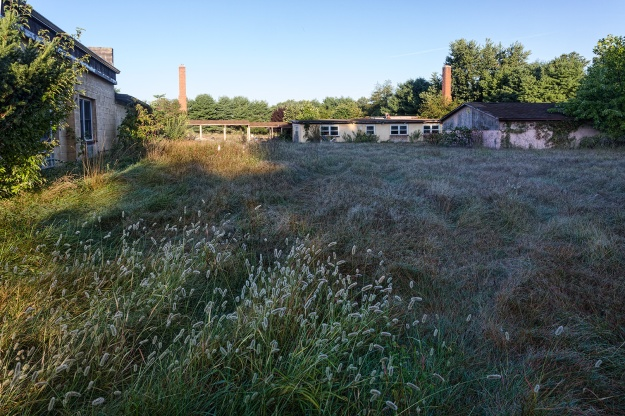 Nike Missile Battery PH23/25 Barracks Area by Richard Lewis