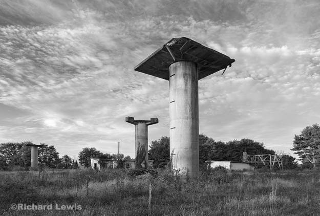 Nike Missile Battery PH23/25 Radar Section by Richard Lewis
