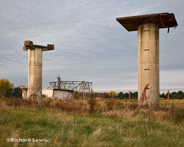 Nike Battery PH23/25 Radar Towers by Richard Lewis