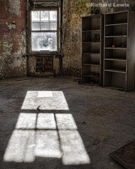 Window Light at Pennhurst by Richard Lewis