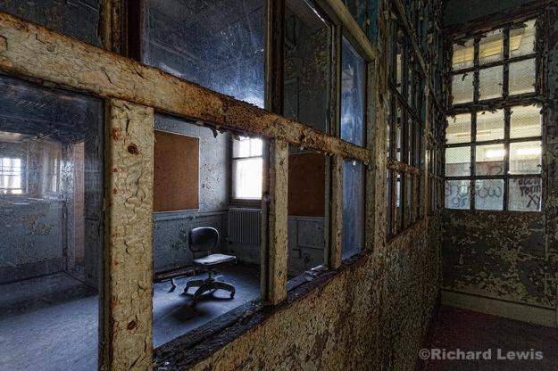 Industrial Medicine at Pennhust Asylum by Richard Lewis
