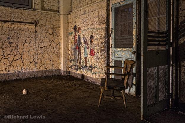 Candy Land at Pennhurst Asylum by Richard Lewis
