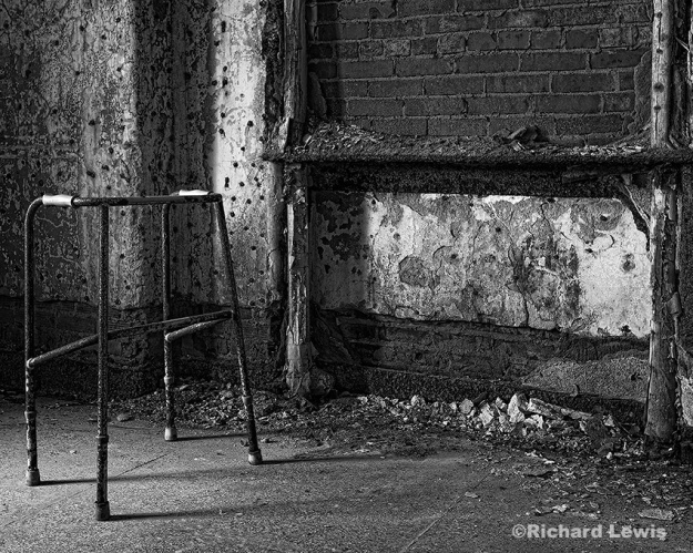 The Walker by Richard Lewis Pennhurst Asylum