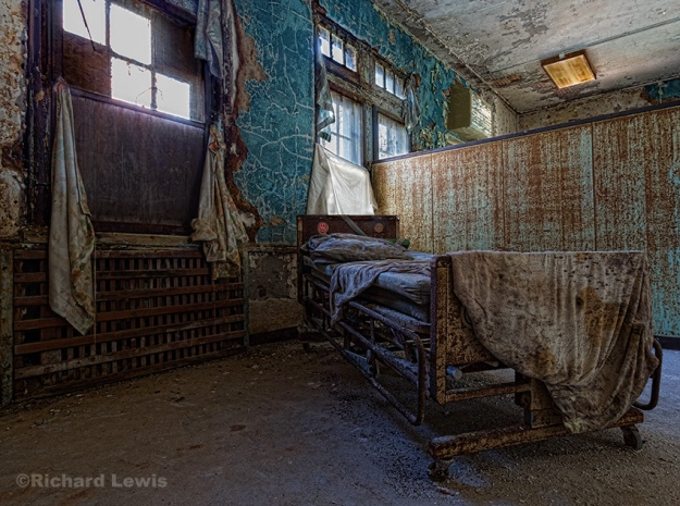 Pennhurst Hospital Bed by Richard Lewis