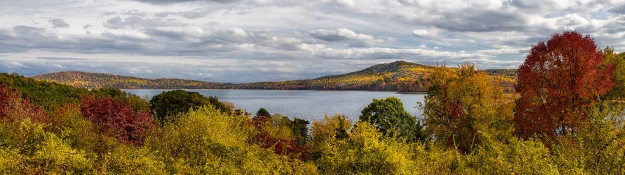 Fall At The Round Valley Reservoir by Richard Lewis
