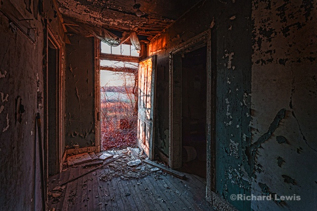 Front Hallway at Dawn by Richard Lewis