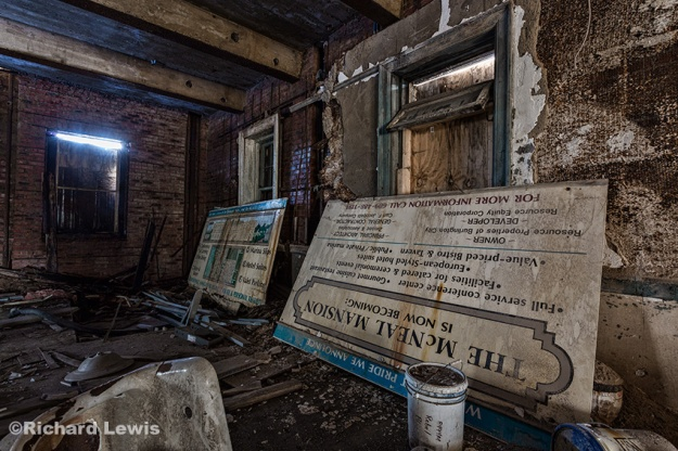 McNeal Mansion High Hopes and Big Plans by Richard Lewis