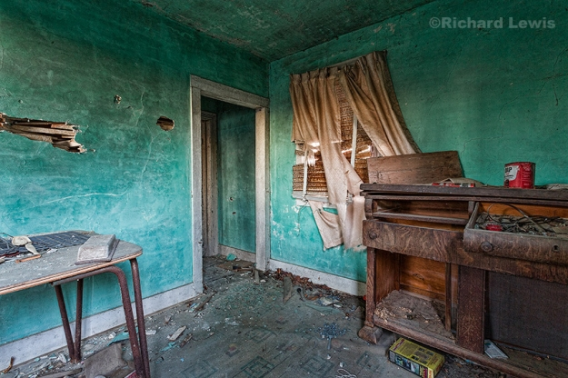 Abandoned Dining Room by Richard Lewis