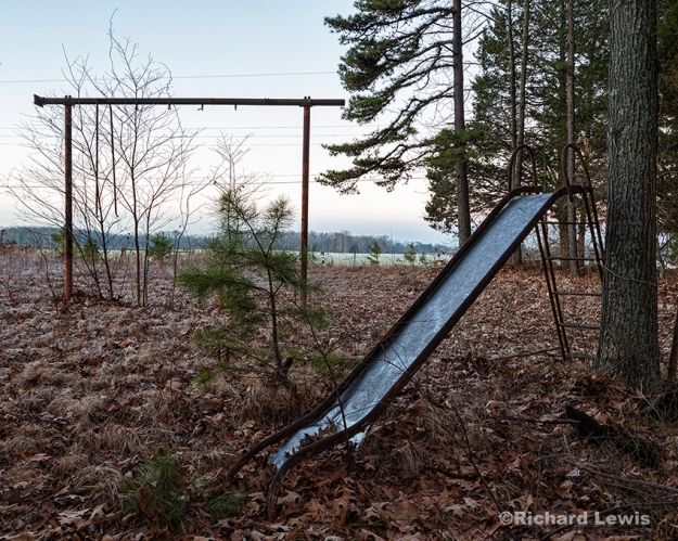 Abandoned Playground by Richard Lewis