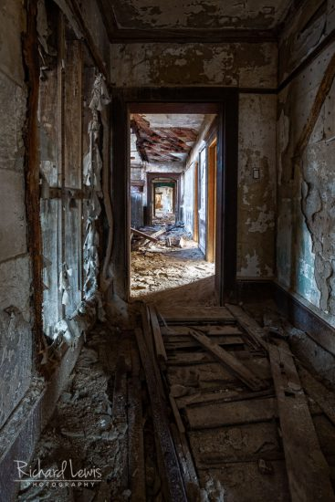 McNeal Mansion Interior Hallway by Richard Lewis