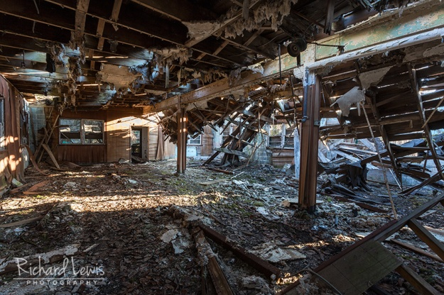 PH-58 Nike Missile Base Mess Hall by Richard Lewis