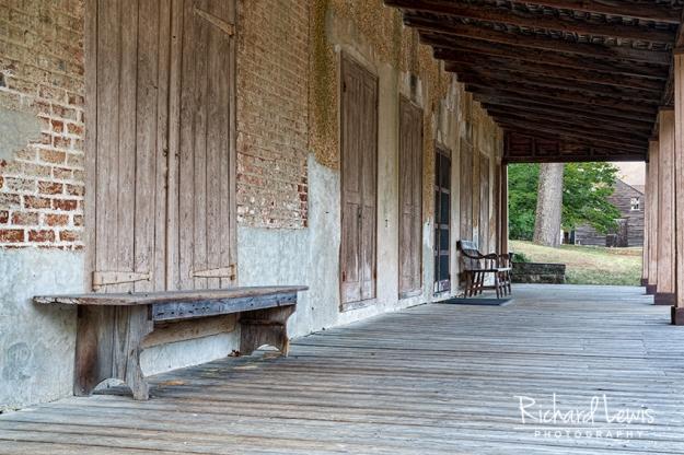 Batsto Porch Frame by Richard Lewis